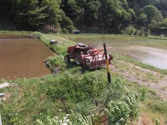 泥田水つくり
