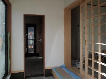 新築住宅玄関_岡谷市サイト